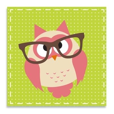 Uiltje met bril