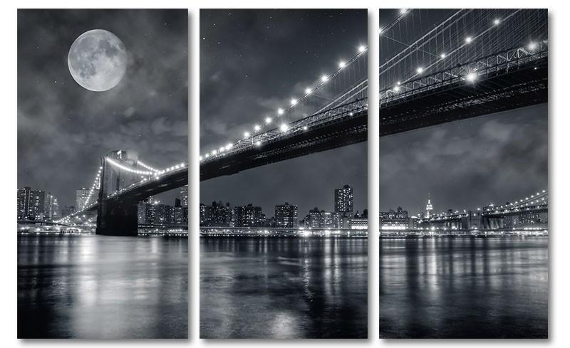Moon over New York