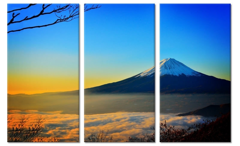 Canvas Schilderij Mount Fuji