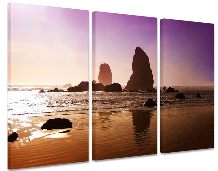 Wanddecoratie Op Canvas.Wanddecoratie Strand Zee En Strand Schilderijen Canvas