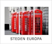 schilderijen steden europa op canvas