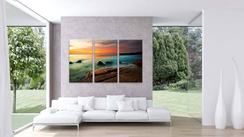 schilderijen strand en zee