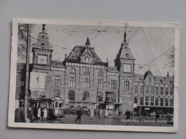 Amsterdam,  Centraal Station 1951