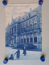 Utrecht, Laboratorium Catharijnesingel (1906?)