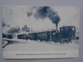 Station Bergen Kerstdag 1923