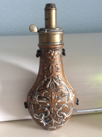 Powder Flask, maker G&JW Hawksley, Sheffield