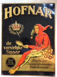 Hofnar, origineel reclamebord