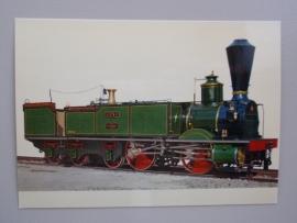"""Lokomotive """"Genf"""" der ehemaligen Schweizerischen Centralbahn 1858"""