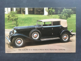 Auburn 12, 1934