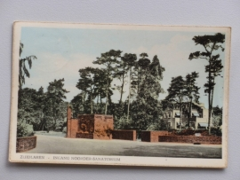Zuidlaren, Ingang noorder-Sanatorium  (1963)