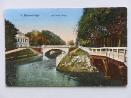 Den Haag, de witte Brug 1925
