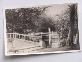 Arnhem, Sonsbeek, brug en fontein 1938