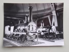 """Lokomotive """"Ajax"""" der KFNB (foto) 17,5x12,5 cm"""