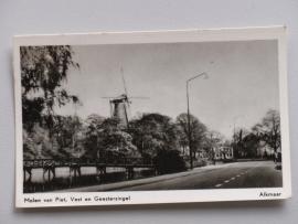 Alkmaar, Molen van Piet, Vest en Geestersingel