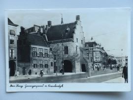 Den Haag, Gevangenpoort met Kneuterdijk, 1947