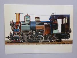 Schnitt durch eine Zahnradlokomotive 1909-1942