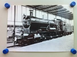 Locomotief N.N. 3737, vroeger S.S. 731 uit 1911 (kaart B)