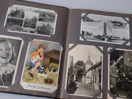 Ansichtkaarten album (1940-1950)