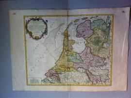 """The Netherlands, """"Les Provinces-Unies Des Pays-Bas (Paris, ca 1753)"""