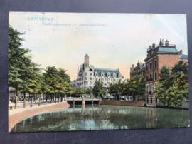 Amsterdam, Americain-Hotel, Stadhouderskade, 1908