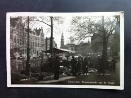 Amsterdam, Bloemenmarkt aan de singel