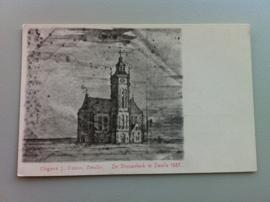 Zwolle, De Vrouwenkerk 1587