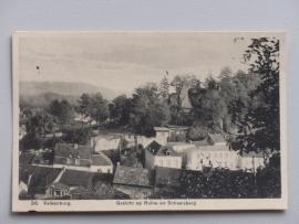 Valkenburg, Gezich op ruine en Schaelsberg  (1933)