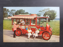Cretors popcorn Wagon, 1914