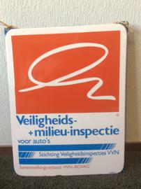 Emaille bord, Veiligheids-en milieu-inspectie voor autos