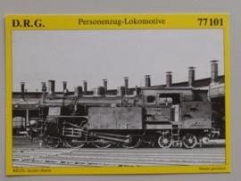 Personenzug-Lokomotive 77101