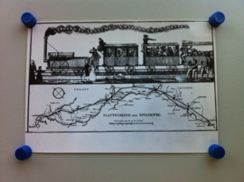 Prospectus voor een ontworpen spoorweg Amsterdam-Keulen (1832)
