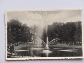 Apeldoorn, Fontein in het Oranjepark 1934