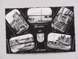 Arnhem groeten uit met rijnbrug