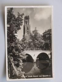 Utrecht, Oude Gracht met Gaardbrug  (1940)
