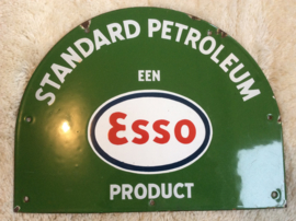 Emaille reclamebord, Standard Petroleum een ESSO Product