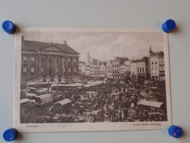 Groningen, Groote Markt, Marktdag
