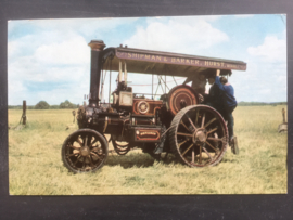 Burrel Compound Three Speed Steam Tractor No. 3458, 1913