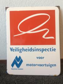 Emaille bord, Veiligheidsinspectie voor motorvoertuigen