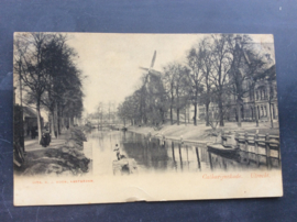Utrecht, Catharijnekade, rond 1910