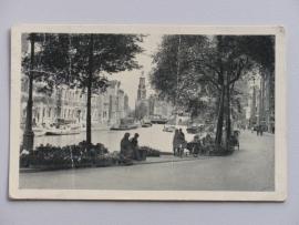 Amsterdam,  bloemmarkt 1951