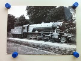 """Locomotief """"Longmoor"""" 1945 (kaart A)"""