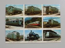 Schweizer Lokomotiven,Locomotives suisses, Swiss Locomotives