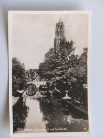 Utrecht, Oude gracht met Domtoren