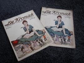 De Kroniek ( april en juli 1916 )