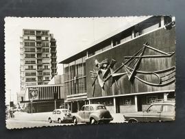 Rotterdam, Lijnbaan met bioscoop theaters, 1958