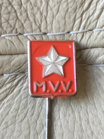 Voetbalclub M.V.V. speldje