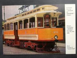 Tram No. 672, 1898, Glasgow