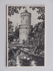 Nijmegen, De Kruittoren (15e eeuw) (1946)
