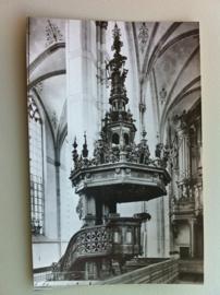 Zwolle, Grote of St Michaëlskerk , Preekstoel