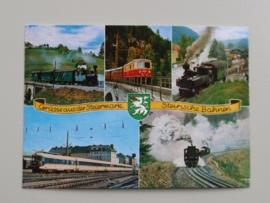 Grusse aus der Steiermark. Steirische Bahnen